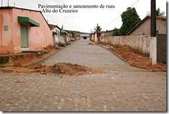 empCalçamento no Bairro Alto do Cruzeiro