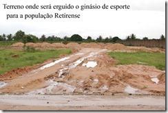 empConstrução do ginásio de esportes do Bairro Retiro cópia