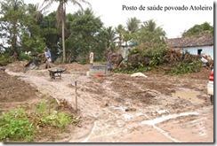 empConstrução do posto de saúde do povoado Atoleiro